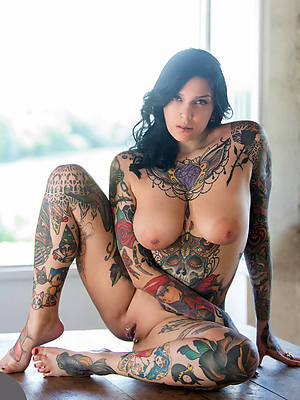naked tattoed old women vilifying sexual connection pics