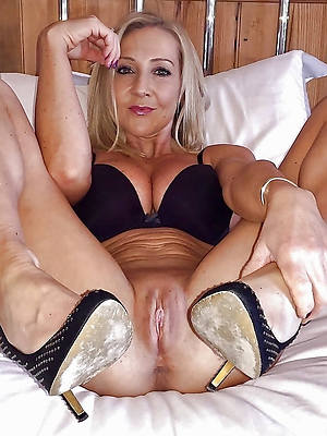 Bohemian sexy women in high heels nude