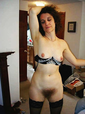 naught unshaved undress women
