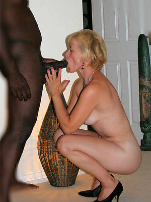 sexy hot of age wife interracial