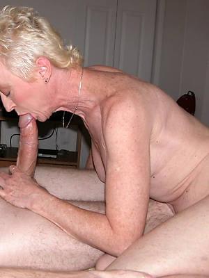 beauty mature handjob making love