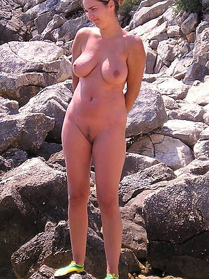 mature nude beach hot porn pics