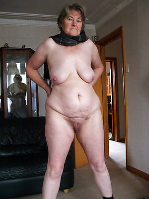superannuated mature sluts posing unfurnished