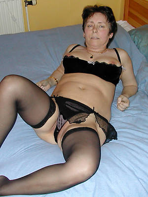 mature brunette on target tits