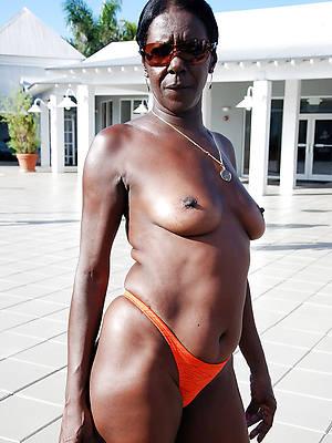 free porn pics be incumbent on mature black granny