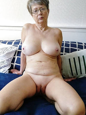 older grown up woman superannuated pussy