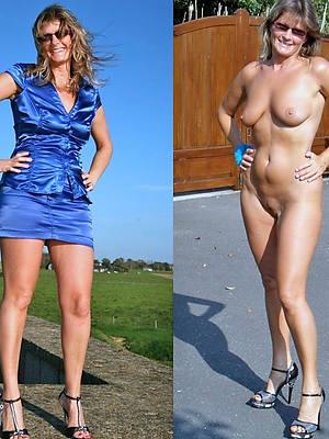 sexy revealed mature dressed undressed