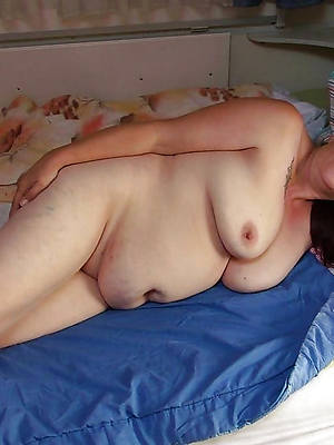 mature fat widely applicable shows pussy