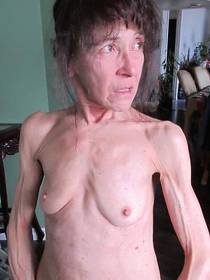 skinny mature women
