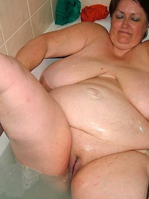 sexy naked mature superannuated bbw