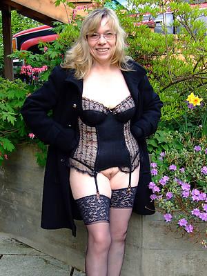 sexy british mature stocking