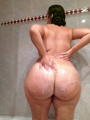 beautiful mature woman in the matter of shower