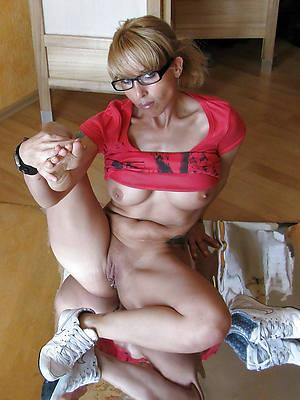 crude adult women in glasses