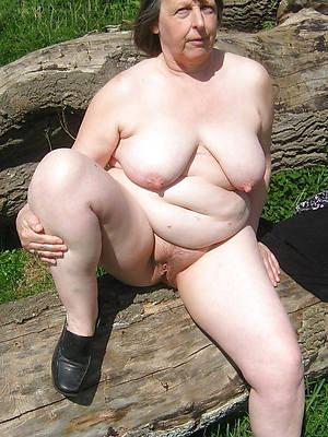 pulchritudinous big fat mature tits