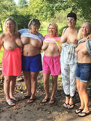 mature milfs over 50 shows pussy