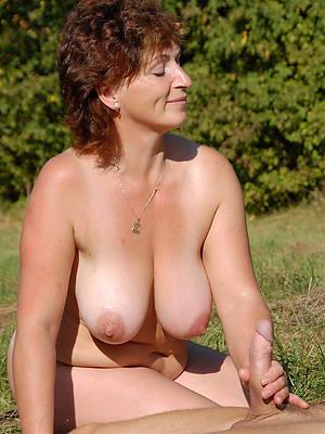 mature woman giving handjob porn pix
