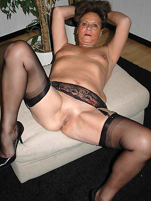 nasty stockings on matures