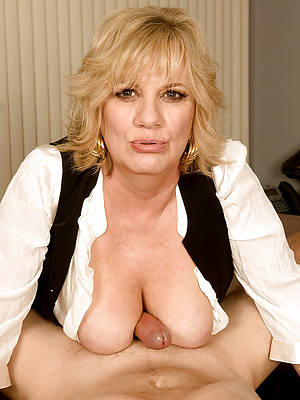 naked pics be incumbent on mature titjob