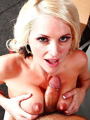 big tit mature blow vocation shows pussy