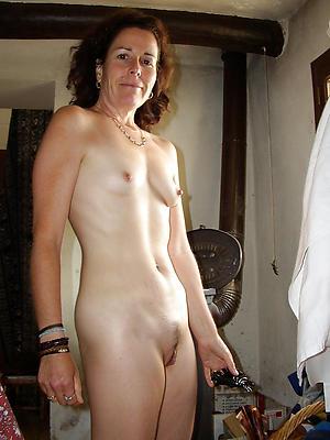 comely skinny mature slut