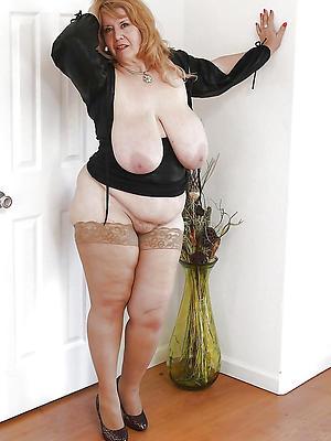 curious mature moms stockings