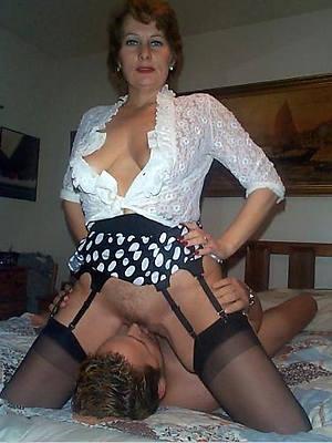 elegant crestfallen mature skirt eating pussy gallery