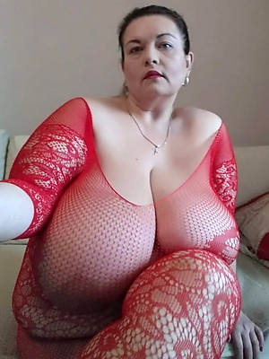 grotesque chubby hang mature tits