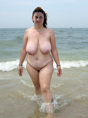 magnificent naked mature body of men at beach