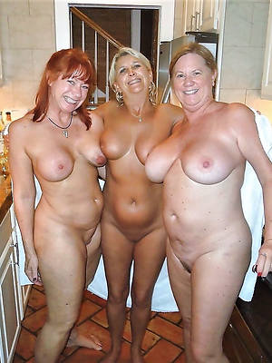 naughty experienced mature triple pics