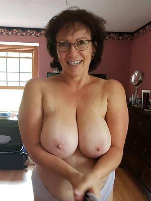 unconforming pics of mature spliced tits