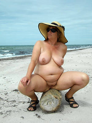 horny mature not susceptible nude beach pictures