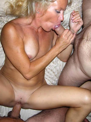 horny grown-up old bag threesome photos