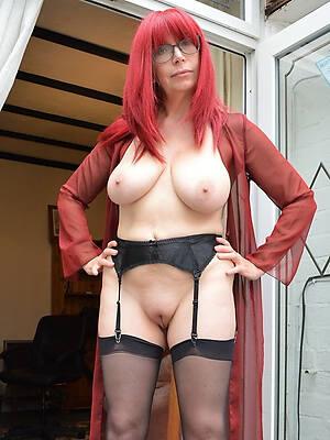 essential pics of mature nude redhead