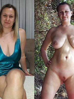 matured girls dressed added to stripped porn