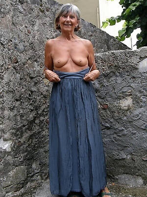 naked 60 year old women displaying her pussy