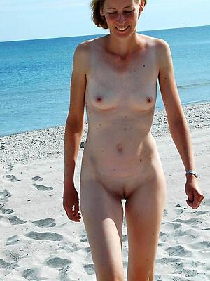 unorthodox pics of skinny mature brunette